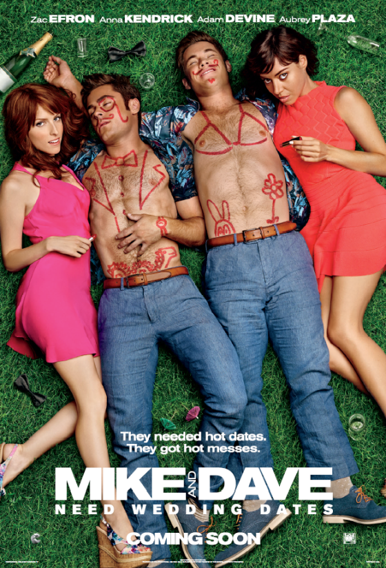 Mike & Dave Need Wedding Dates Poster
